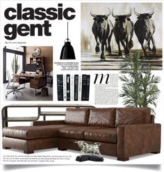 """Classic Gent"" by retrocat1 on Polyvore"