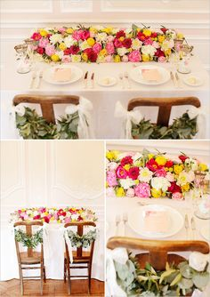 #pink and yellow wedding  ... Wedding ideas for brides & bridesmaids, grooms & groomsmen, parents & planners ... https://itunes.apple.com/us/app/the-gold-wedding-planner/id498112599?ls=1=8 … plus how to organise an entire wedding, without overspending ♥ The Gold Wedding Planner iPhone App ♥
