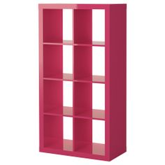 EXPEDIT Shelving unit - high gloss pink - IKEA