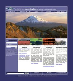 Washington State Tourism | Washington State Tourism: Tourism Website + Lewis and Clark Mini-site ...
