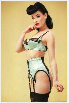 pin up unterwasche burlesque rockabilly vintage dessous