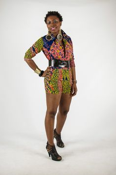 Designs from Fafali Boutique an African unisex online store located in Boston, MA.