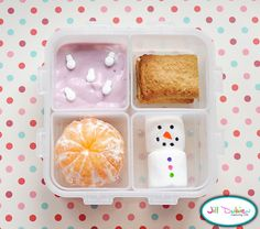 Winter bento box