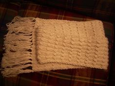 """KNITS WELL WITH OTHERS: Alpaca """"Furry Goodness"""" Scarf"""