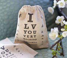 charts, idea, gift, valentine day, fabric bags, wedding blog, burlap bag, fabric printing, eyes