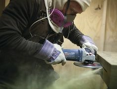 """New Silica Dust Rules Leave Contractors Breathless"" Learn how to prevent concrete from dusting here: http://www.radonseal.com/articles/concrete-dust-sealer.htm"