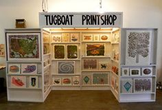 artists, booth displays, art booth, craft idea, artist booth, craft booth, prints, booth idea, artwork