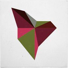 #282 Dragon – A new minimal geometric composition each day