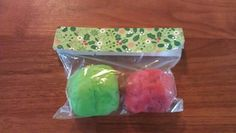 Homemade playdough - great stocking stuffer or gift for friends