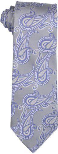 Michael Kors Men's Pandora Paisley Necktie « Clothing Impulse