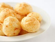 I've been looking for this recipe for years!  Brazilian Cheese Bread Balls (Pao De Qeuijo)