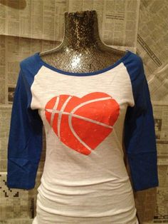 Of course change the sleeve color to black and the basketball to red ?