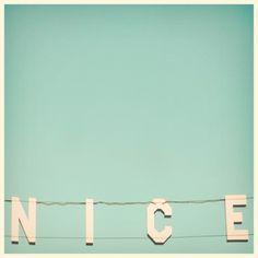 pastel, color, blue, letter, venice beach, beach signs, mint, nautical design, print