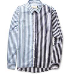 MarniStriped Cotton Shirt|MR PORTER