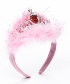 Loving this Light Up Fuzzy Princess Tiara - Set of Three on #zulily! #zulilyfinds