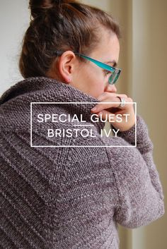 Provisional Bind Off Tutorial with Guest Bristol Ivy || VeryShannon.com #sskal14 #knitting