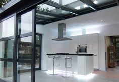 Serre on pinterest extensions tuin and kitchen extensions - Serre aluminium polycarbonate ...