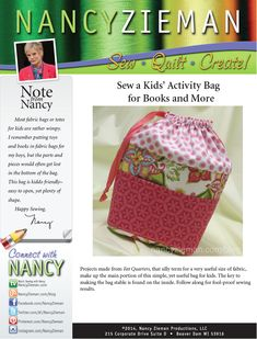 Now Nancy Zieman's top 5 blog project are available as downloadable project sheets. Convenient!