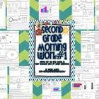 This second grade morning work, designed for the first month of school, meets many math and ELA  Common Core Standards.  This product addresses 2. ...