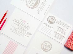Wedding Invitations by 42 Pressed via Oh So Beautiful Paper (7)