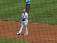 Anthony Rizzo provided the game-winning RBI on Sunday against the Astros
