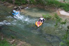 Tubing in Bandera, Texas