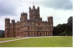 Highclere Castle-the REAL Downton Abbey. Beautiful!