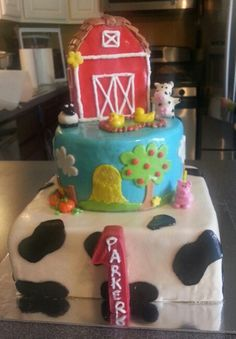 Barnyard 1st Birthday