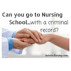 Can you go to nursin