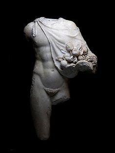 Torso of god Sylvanus      Roman workshop, 1st - 2nd century A.D.
