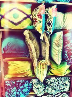 Love, love, love a good accent pillow//Pier1 Imports accent pillow