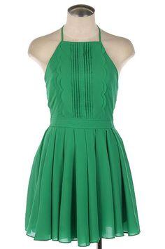 Emerald Green Cocktail Dress $52