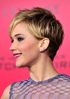 Jennifer Lawrence Love the new haircut!!