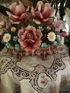 Capodimonte roses!