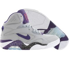 Nike New Air Force 180 Mid (wolf grey / critical purple / electric orange / white) 537330-050 - $129.99