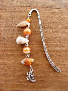 Seashell bookmark #bookmark #crafts #seashells