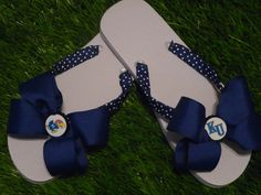 JAYHAWKS Flip Flops  Child & Adult Sizes FREE by 1YOUniqueboutique, $19.99