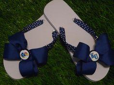 JAYHAWKS Flip Flops  Child & Adult Sizes FREE by 1YOUniqueboutique, $19.99