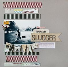 Slugger *BasicGrey Clippings Collection* - Two Peas in a Bucket