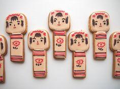 Cookieboy kokeshi series.