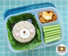 Awesome school lunch ideas via meetthedubiens.com | packed in @EasyLunchboxes containers