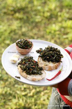 Crostini di Cavolo Nero (Tuscan Cabbage or Kale Crostini) | Apron and Sneakers