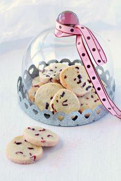 receta de galleta de arandanos