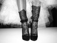 Marchesa F/W 2011 #socks