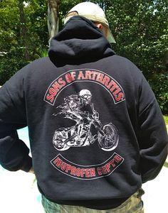 Sons of Arthritis now has a sweatshirt!