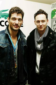 Tom Hiddleston, DAVID GANDY