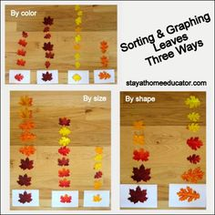 Leaf Sort Three Ways