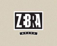 Zebra Brand Logo by Mikeymike