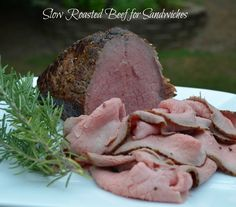 Perfect roast beef - every time with this technique!