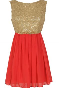 Sequin and Coral